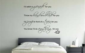 Awesome Large Wall Decals For Trends And Charming Big Bedroom Images Quotes  Stickers Decal