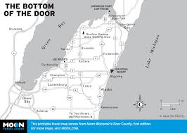 printable travel maps of wisconsin  moon travel guides