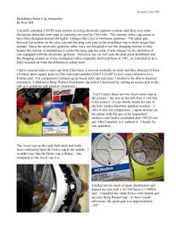 msd 5520 ignition control module installation instructions distributor rotor cap ano es by ron dill i recently attended a