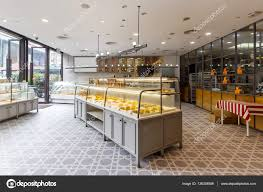 Interior Of Modern Bakery Stock Editorial Photo Zhudifeng 136329586