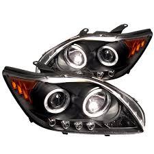 com der auto scion tc black halogen led projector headlight automotive