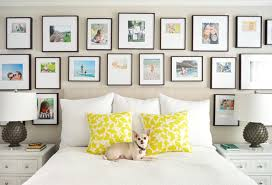beige paint bed with dog frame gallery