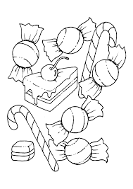 Coloriage Bonbons Img 11443