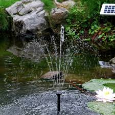 solar fountain sunspray se 360 for containers and small ponds