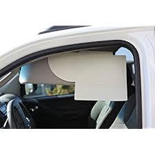 tv visors. mega shade 100 sun visor extender 2-visors per package (driver \u0026 passenger side tv visors 2