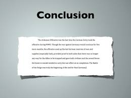 Conclusion In Essay How To Conclude An Essay About Myself