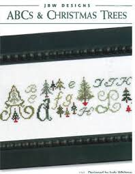 Christmas Tree Cross Stitch Chart Abcs Christmas Trees Cross Stitch Chart