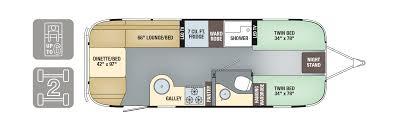 airstream floor plans. Brilliant Plans Airstream International Signature 25FB Twin Throughout Floor Plans L