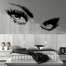 bedroom wall designs for teenage girls. Brilliant Girls Wall Decals For Teenage Girls Bedroom Eyes In Teen  Design Throughout Designs