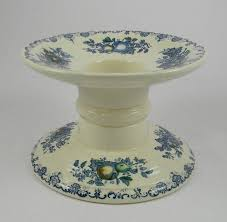 Ham Stands For Carving And Display Vintage English Ironstone Blue Transferware Ham Stand Masons Fruit 78