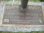 Samuel Earl Nichols biography