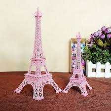 Small Picture 2pcslot 25CM Pink Tower Eiffel Home Decoration Items Vintage
