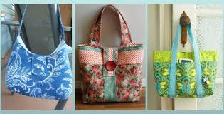 Tote Bag Pattern Interesting 48 Lovely DIY Tote Bags Carry Everything In Style Quilting Digest