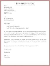 Job Termination Letter Template Free Templates Abandonment Delectable Employee Termination Letter Template Free