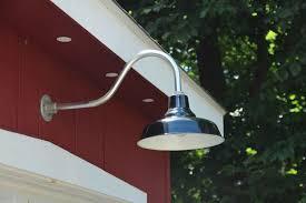 image of gooseneck outdoor lighting fixtures