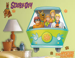 Scooby Doo Bedroom Decorations Scooby Doo Gang Wall Decals Funkthishousecom Funk This House