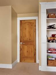 knotty alder interior door