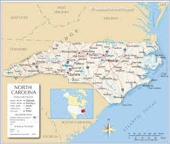 reference map of north carolina usa  nations online project