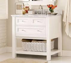 single white bathroom vanities. Bathroom , Timeless White Vanity : Single Console With Marble Top Vanities