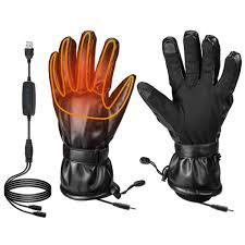 <b>Heated Gloves</b> for Men Fingers Hands Warmer for Ski Motorcycle ...