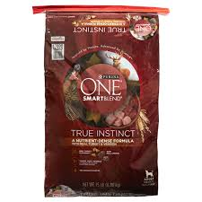purina one smartblend dry dog food true instinct turkey venison 15 lb