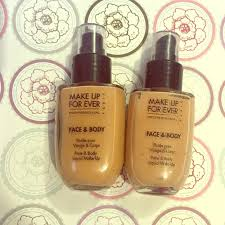 makeup forever face and body foundation 32 34