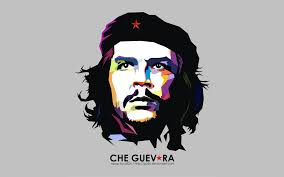 che guevara on wpap design free desktop hd wallpaper