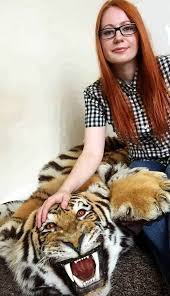 dovile vaitkeviciute and tiger skin