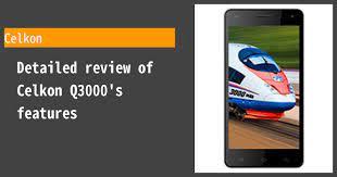 Celkon Q3000 Review