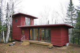 The McGlasson weeHouse boasts a rooftop deck, gorgeous forest views, and a  price far