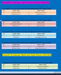 Fixtures fixtures back expand fixtures collapse fixtures. Soccer Connacht Fa Cup Fixtures Galway Bay Fm