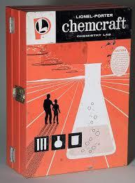 Lionel Porter Chemcraft Chemistry Lab 1958 Chemistry Set