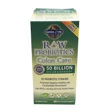 garden of life raw probiotic colon care vegetarian capsules