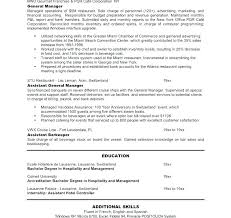 Hotel General Manager Resume Enchanting General Manager Monthly Report Template Example Of Project Status