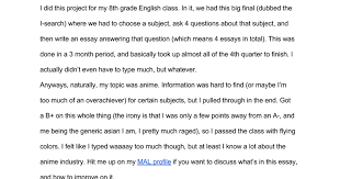 anime research report google docs