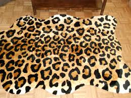 extra large animal skin rugs