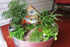 fariy garden. An Antidote To Modern Living, A Container Fairy Garden Can Bring Immense Pleasure Adults And Children Alike. Fariy