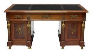office furniture desk vintage chocolate varnished. Office / Study Library Office Furniture Desk Vintage Chocolate Varnished