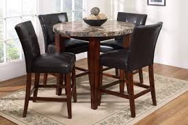 exquisite round pub table with chairs