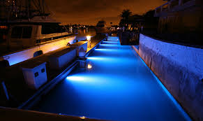 neon boat dock lights