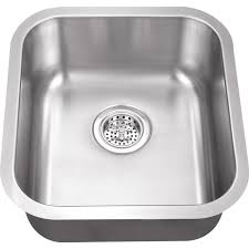 Platinum Sinks 16 X 18 18 Gauge Stainless Steel Undermount Bar Sink