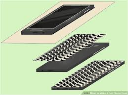 diy paint silicone phone case 4 ways to make a cell phone case wikihow