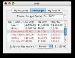 home budgeting software buddi home