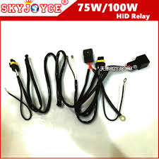 detail feedback questions about 40a 75w wire relay wire harness for 75w wire relay wire harness for spotlights hid drive work light 35w 55w 100w 75w relay