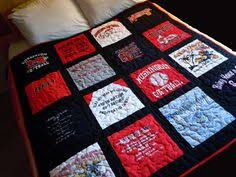 Custom Memory TShirt Quilt Full/Double by QuiltingFrenzy on Etsy ... & Custom-Made Memory T-shirt Quilts (Deposit ONLY) Adamdwight.com