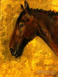 theodore wores paintings for indian horse head