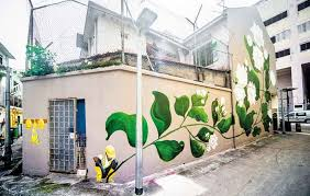 traditional trades of little india at 2 belilios lane created by artist psyfool aims to highlight the trades common to little india when merchants and  on wall mural artist singapore with now jakarta discovering mural art in singapore