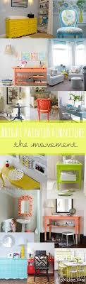 brightly painted furniture. Brightly Painted FurnitureBeautiful Pops Of Color Furniture N