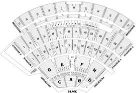 Jones Beach Seating Chart With Row Seat Numbers Tickpick