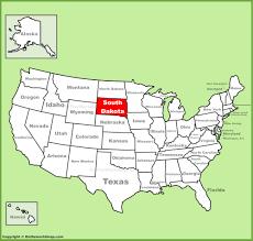 south dakota state maps  usa  maps of south dakota (sd)